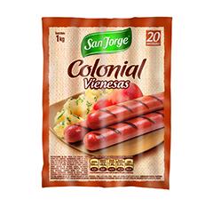 Colonial Vienesas 1k